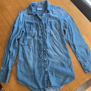 Super soft denim tunic